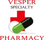 Vesper Specialty Pharmacy Footer Logo